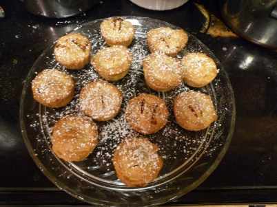 J's mum's recipe mince pies!