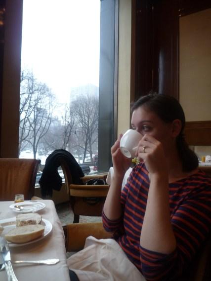 Honey tea for the sore throat!