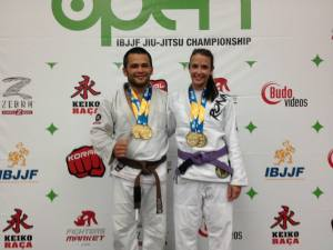 Coach Katy and Master Roberto both won double gold medals at the Boston International Open in 2013.