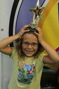 Naples After School and Martial Arts: Lexi gets second place in the Go-Getters Race