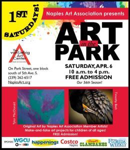 Naples Art in the Park poster