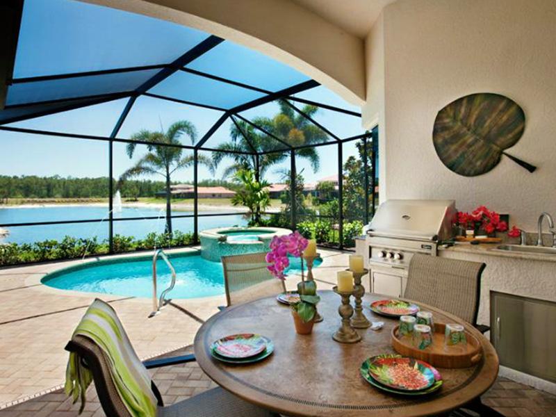 Bonita Lakes new home construction - Bonita Springs, Florida