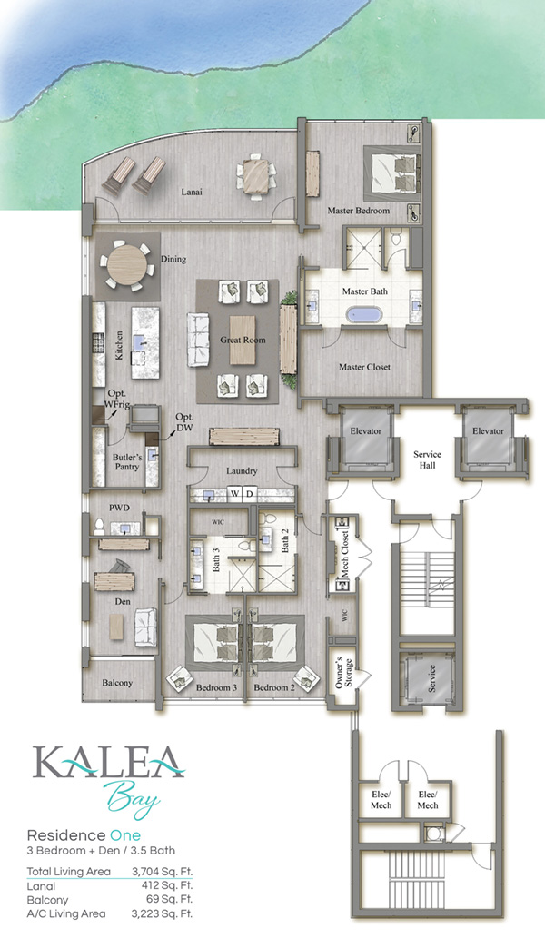 Kalea Bay high-rise condo residences in Naples, Florida - naplesbonitamarco.com