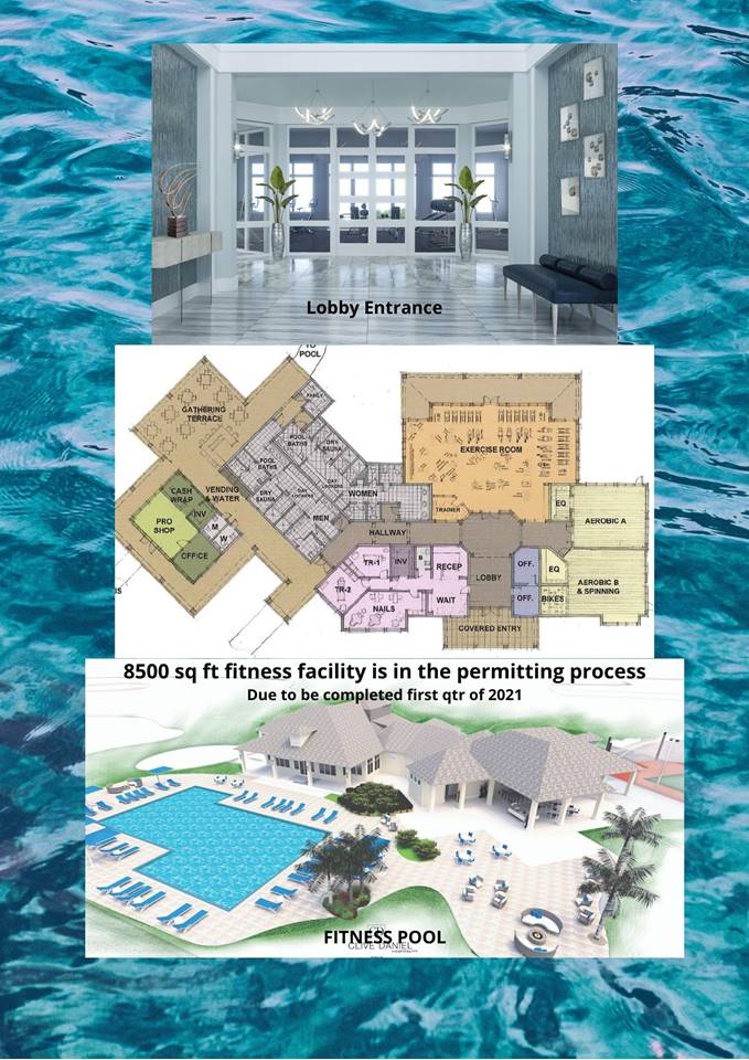 WIldblue new construction homes - fitness facility is under way