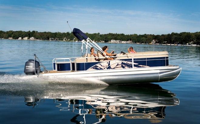 Pontoon Rental Boat - Bennington 24 Pontoon