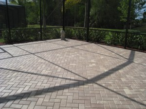 Sealed Patio Pavers