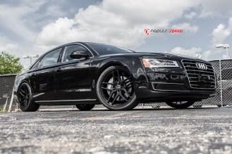 2015 A8L Savini Black Di Forza Wheels