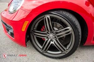 Volkswagen Beetle R-line Hartmann wheels