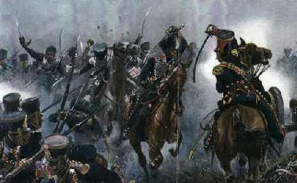 Batalla de Salala. Húsares pardos derrotan a Dragones de la Frontera (1817)