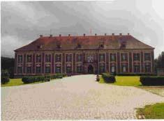 Le château de Sagan (Silésie)