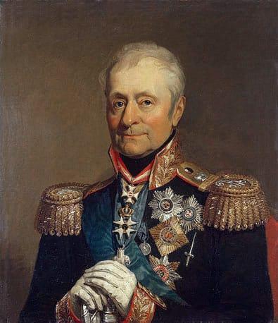 Levin August von Bennigsen - Portrait de George Dawe (Palais d'Hiver)
