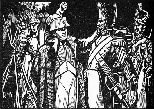 Napoléon et ses soldats à la veille d'Austerlitz (1805)