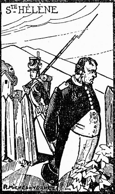 Napoléon à Sainte Hélène (1815-1821)