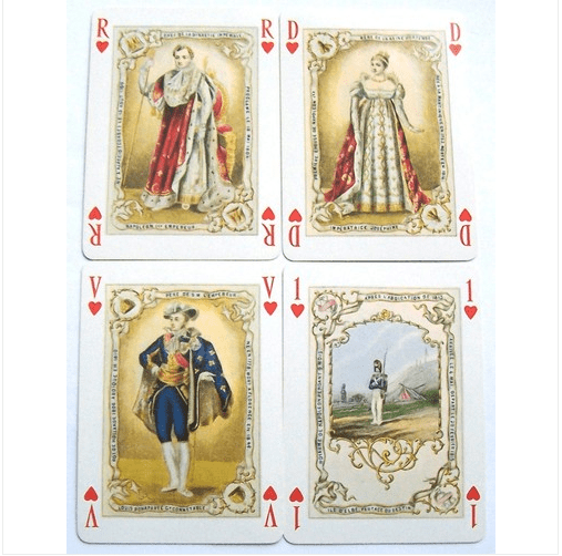 napoleon bonaparte playing cards