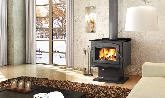 Wood Stove Made From S