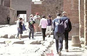 Pompei, Dia ispeziona i cantieri  contro il pericolo camorra