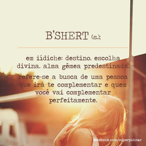 Bshert-Glossario