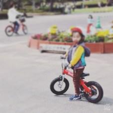 へんしんバイクも練習しました。