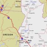 IDAHO WA OR highways map pinterest CROP2