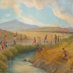 Estelle-Ishigo-Oil-Painting
