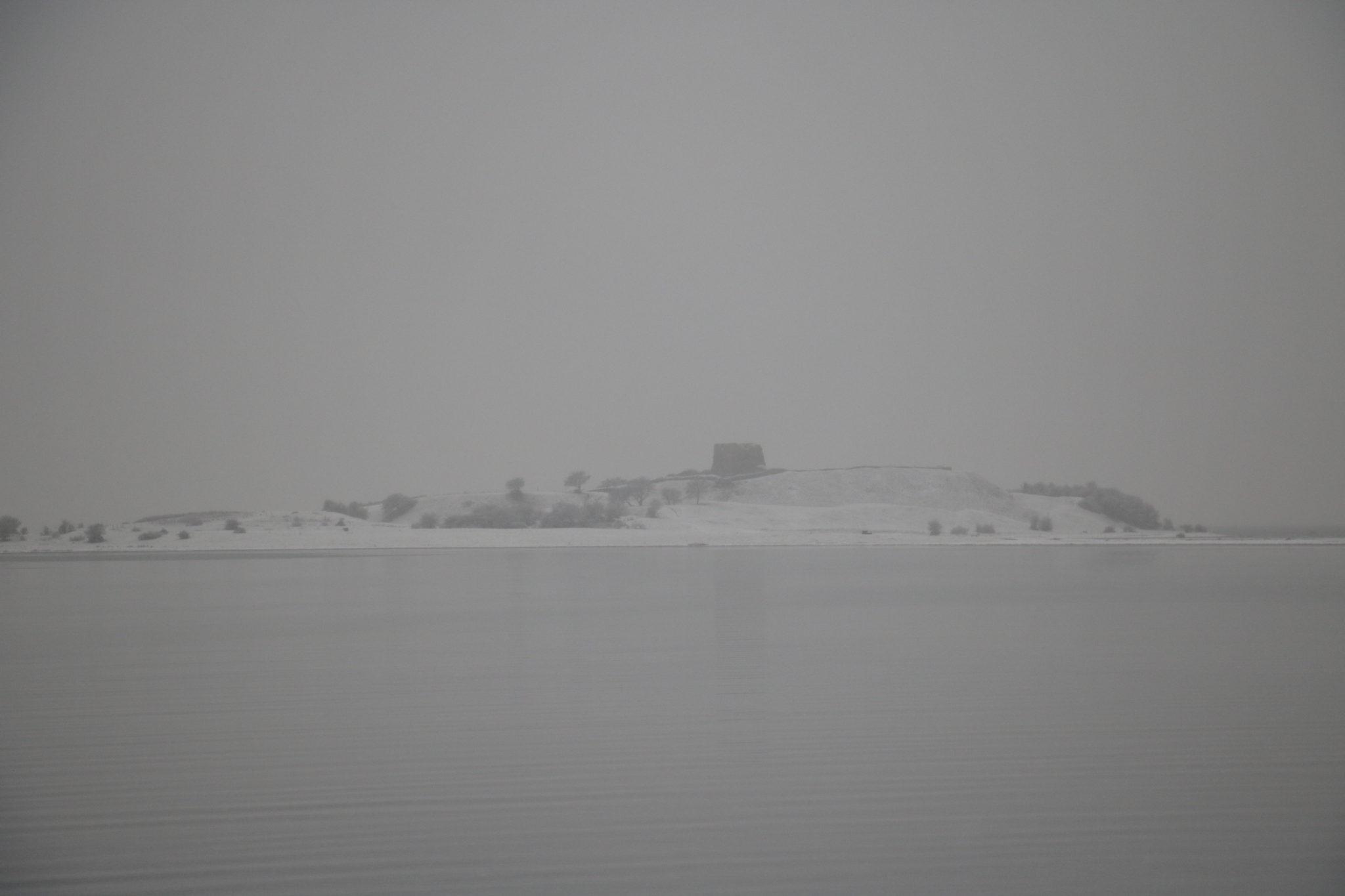 Kalø set af vinterbadere i Nappedam, syddjurs, rønd
