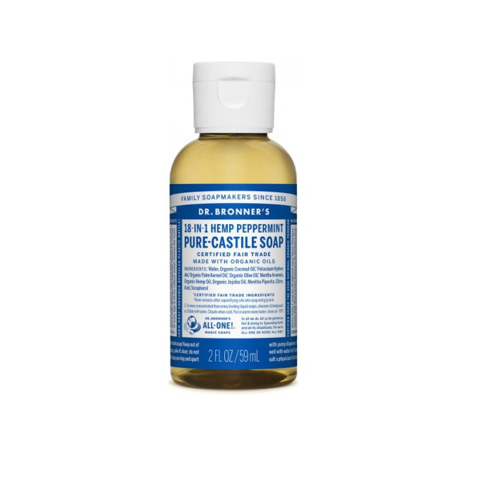 Pure-Castile Liquid Soap – Peppermint
