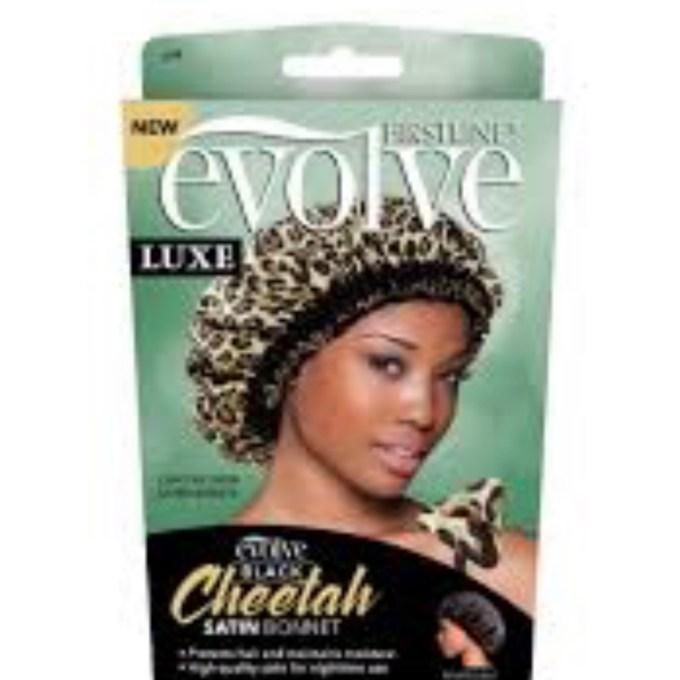 Evolve Reversible Cheetah Bonnet