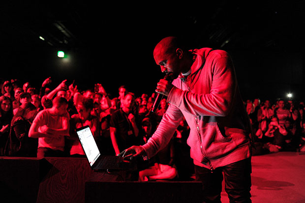 """Design Miami Presents Kanye West World Exclusive Listening Party for His New Albulm """"Yeezus"""""""