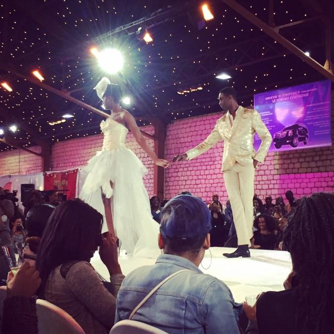 défilé7 - Afro Wedding Party - nappy pretty girl