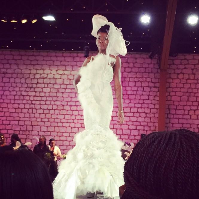 défilé4 - Afro Wedding Party - nappy pretty girl