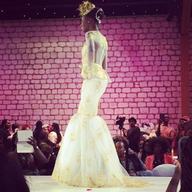 défilé6 - Afro Wedding Party - nappy pretty girl