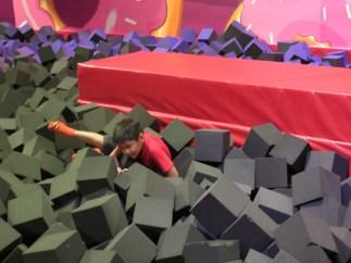 Pool of Sponge bricks