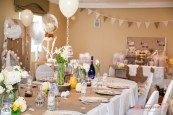 Tia's baby shower at the marriott hotel in Worsley