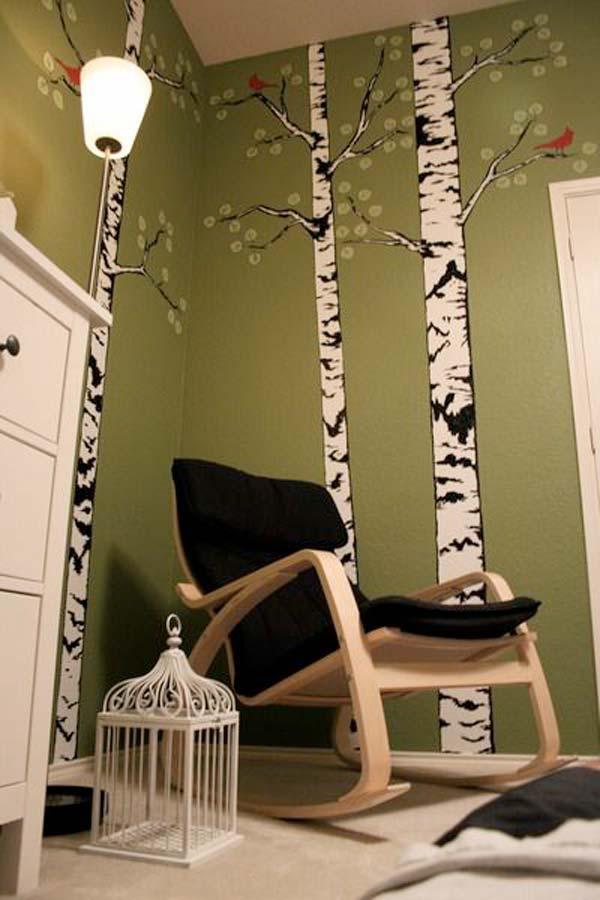 Zidna dekoracija u obliku drveta