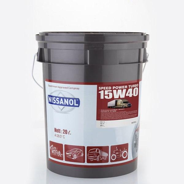 NISSANOL SPEED POWER TURBO - 15W40 (CH-4) - 20 LTR