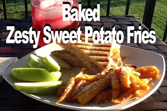 Baked Zesty Sweet Potato Fries