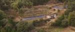 ポツンと一軒家 鹿児島県の建物が3つ 家の周りに畑?を振り返る
