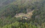 ポツンと一軒家を振り返る 山口県のポツンと一軒家の上にもポツン