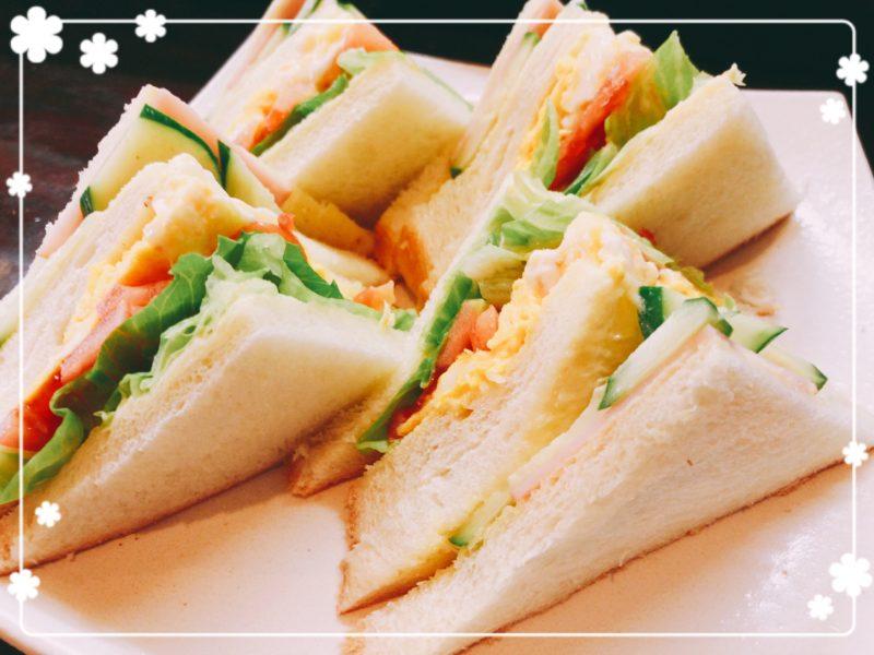 喫茶ぷらむサンドイッチセット