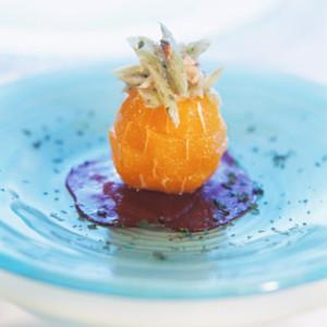 Naranjas caramelizadas