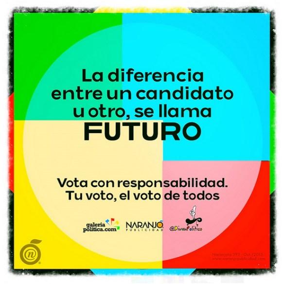 Tu voto es el futuro