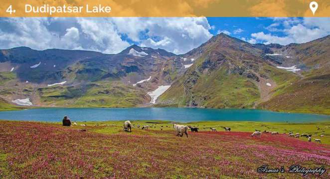 Beautiful lakes in naran kaghan