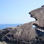 鬼ヶ城と獅子岩
