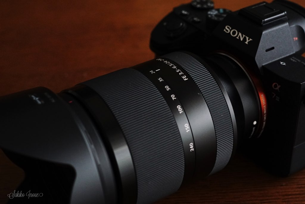 SONY FE24-240mm F3.5-6.3 OSS