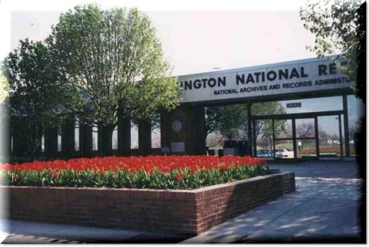 Washington National Records Center, Suitland, MD