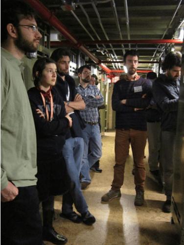 GLAMcamp tour of NARA stacks
