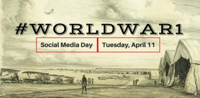 WW1 social media day