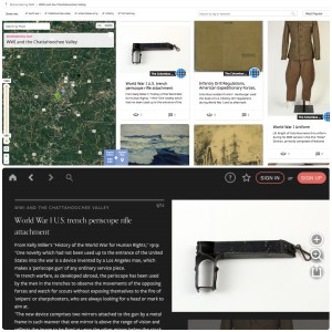 """Columbus Museum's collection, """"WWI and the Chattahoochee Valley"""" on app and Historypin"""