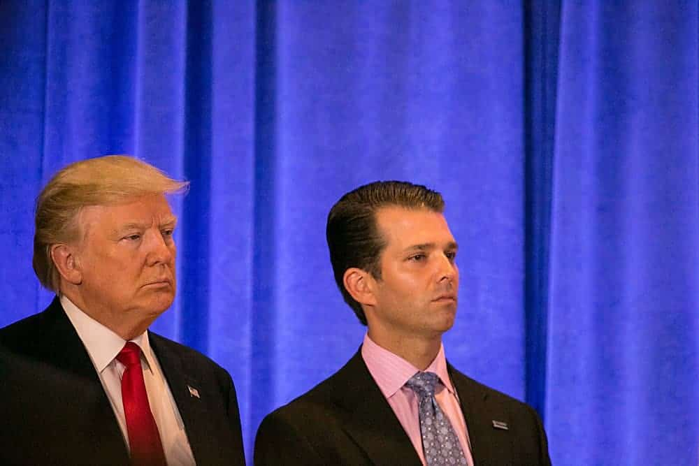 Trump's role in Russian money laundering.