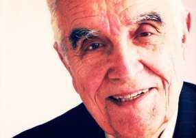 foto of René Girard het boek van Martel